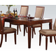 Acme Shelton Leg Dining Table in Walnut 70620