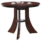 Acme Vinson Round Bar Table in Dark Brown 60088