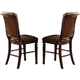 Acme Winfred Counter Height Chair (Set of 2) in Cherry 60082
