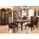 Acme Winfred 7PC Rectangular Dining Room Set in Cherry