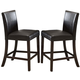 Acme Bravo Counter Height Chair (Set of 2) in Espresso 70357