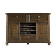 Stanley Furniture Rustica Portfolio Dining Cabinet in Sorrel 208-11-05 CLOSEOUT