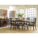 Stanley Furniture Rustica Portfolio 7-Piece Harvest Table Set