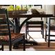 Stanley Furniture Artisan Portfolio 2-Tone Pedestal Dining Table 135-11-136;135-81-236 CLOSEOUT