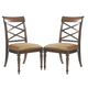 Tommy Bahama Home Landara Cedar Point Side Chair in Rich Tobacco Finish 01-0545-884-01 (Set of 2)