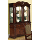 Acme Amaryllis Hutch & Buffet with Accent Lighting in Cherry 60129