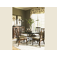 Tommy Bahama Home Landara Round Metal Dining Table Set