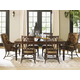 Tommy Bahama Home Landara Rectangular Dining Table Set