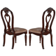 Acme Gwyneth Dining Side Chair (Set of 2) in Cherry 61863