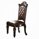 Acme Vendome Dining Side Chair with Leather-Like Uphostery (Set of 2) in Cherry 62004 PROMO CLEARANCE