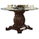Acme Vendome Single Pedestal Dining Table with 54