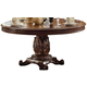Acme Vendome Single Pedestal Round Dining Table with 72