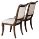 Coaster Harris Dining Side Chair in Rich Cherry (Set of 2) 104112