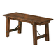 Coaster Lawson Dining Bench in Rustic Oak 103993