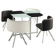 Coaster Trussel 5-pc Dining Set in Checker