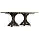 Hooker Furniture Corsica Rectangle Pedestal Dining Table 5280-75206