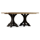 Hooker Furniture Corsica Rectangle Pedestal Dining Table 5280-75216