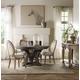 Hooker Furniture Corsica 5pc Round Dining Table Set in Dark Espresso