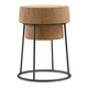 Domitalia Bouchon-SGB Counter Stool in Cork and Anthracite (Set of 2)