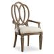 Hooker Furniture Solana Wood Back Arm Chair (Set of 2) 5291-75400