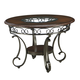 Ashley Glambrey Round Dining Room Table in Brown D329-15