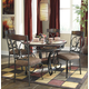 Glambrey 5pc Round Dining Room Set in Brown