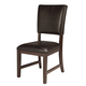 Ashley Watson Upholstered Dining Side Chair in Dark Brown (Set of 2) D541-01