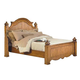 New Classic Hailey Eastern King Panel Headboard in Toffee Finish 4431-110A