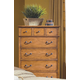 New Classic Hailey 7 Drawer Chest in Toffee Finish 4431-070