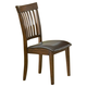 Hillsdale Arbor Hill Mission Back Dining Chair in Colonial Chestnut (Set of 2) 4232-802