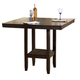 Hillsdale Arcadia Counter Height Table in Espresso 4180-835YM
