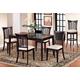 Hillsdale Bayberry 5pc Rectangular Dining Room Set in Dark Cherry