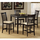 Hillsdale Bayberry 5pc Counter Height Dining Room Set in Dark Cherry