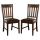 Hillsdale Brooklawn Side Dining Chair in Smoke Brown (Set of 2) 5271-802