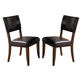 Hillsdale Cameron Parson Dining Chair in Chestnut Brown (Set of 2) 4671-804