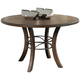 Hillsdale Cameron Round Metal Ring Table in Chestnut Brown 4671-814/815