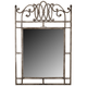 Hillsdale Montello Console Mirror in Old Steel 41549