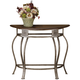 Hillsdale Montello Console Table in Old Steel 41547