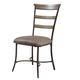 Hillsdale Charleston Ladder Back Dining Chair in Desert Tan (Set of 2) 4670-805