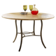 Hillsdale Charleston Simple Round Dining Table in Desert Tan 4670-810/811