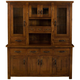 Hillsdale Outback Buffet and Hutch in Distressed Chestnut 4321-850-1