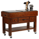 Hillsdale Outback Work Bench in Distressed Chestnut 4321-855