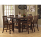 Hillsdale Outback 5 Piece Counter Height Dining Set in Distressed Chestnut