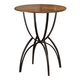 Hillsdale Pacifico Bar Height Bistro Table in Black/Copper 4137-842-3
