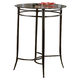 Hillsdale Cierra Mix 'N' Match Bar Height Bistro Table in Black 4596-840/49021