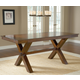 Hillsdale Park Avenue Trestle Counter Height Dining Table in Dark Cherry 4692-812-36