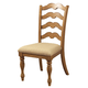 Hillsdale Hamptons Dining Side Chair in Weathered Pine (Set of 2) 4608-801