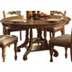 Hillsdale Hamptons Round Table in Weathered Pine 4608-816/817
