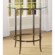 Hillsdale Parkside Bar Height Bistro Table in Antique Pewter 5320-840T