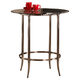 Hillsdale Parkside Bar Height Bistro Table in Copper 5247-840T